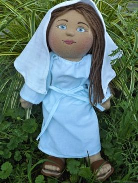 Blessed Virgin Mary doll